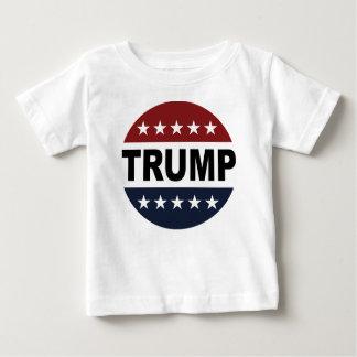 Camisa retro do botão do trunfo 2016 do voto do