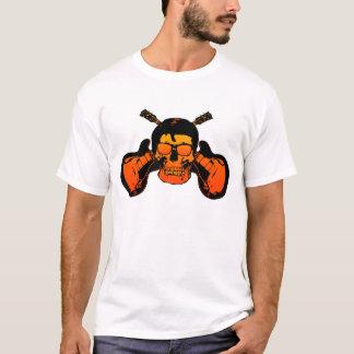 Camisa Rockabilly do crânio