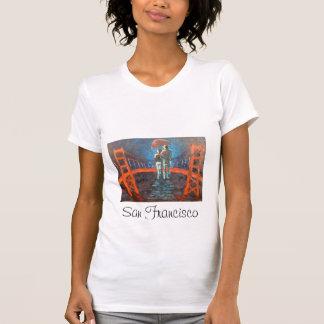 Camisa romântica de San Francisco T