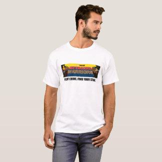 Camisa roubada dos guerreiros do teclado de Havaí