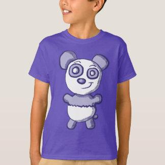 Camisa roxa bonito da panda