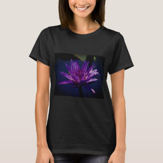 Camisa roxa de Lotus Waterlily T