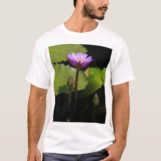 Camisa roxa de Lotus Waterlily T
