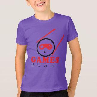 Camisa roxa oficial do sushi dos jogos!