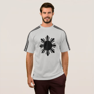 Camisa Running afligida vintage de Filipinas Sun