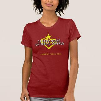 Camisa sagrado da obscuridade da igreja Católica