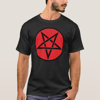 Camisa satânica do Pentagram T
