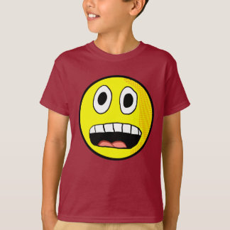 Camisa Scared do smiley