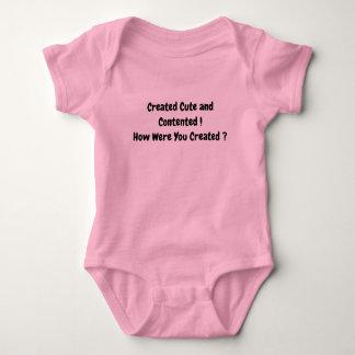 Camisa segura do bebê
