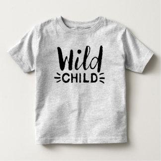 Camisa selvagem da criança da criança