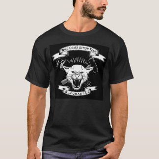 Camisa selvagem da equipe da ação da costa