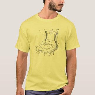 Camisa sem contexto da arte da patente do jogo de