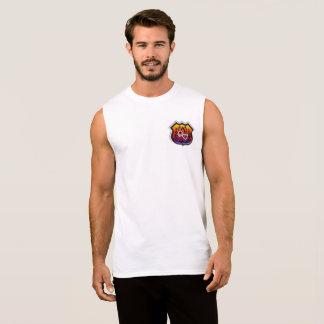Camisa sem mangas do crachá de DV Lotus