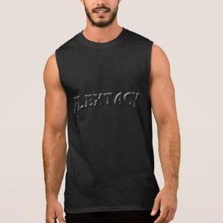 Camisa sem mangas do músculo da vaidade de