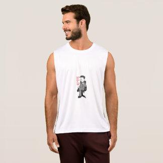 Camisa sem mangas do pai do trabalho do número um