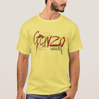 Camisa semanal original do YER Gonzo