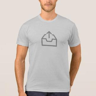 Camisa simples do ícone da transferência de