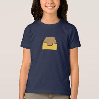 Camisa simples do ícone de Inbox