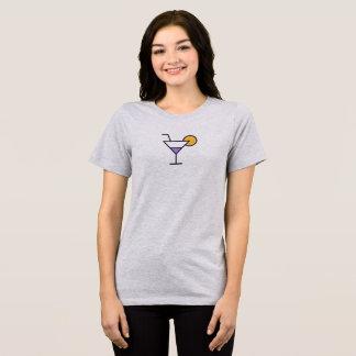 Camisa simples do ícone de Martini