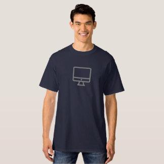Camisa simples do ícone do Desktop