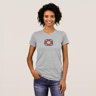 Camisa simples do ícone do Lifesaver