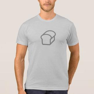 Camisa simples do ícone do pão do naco