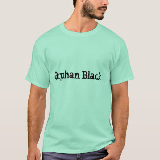 camisa simples preta ohan dos homens da rotulação