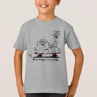 Camisa Skateboarding da camisa T do skate dos
