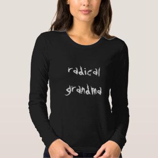 camisa sleeved grandma//long radical camiseta
