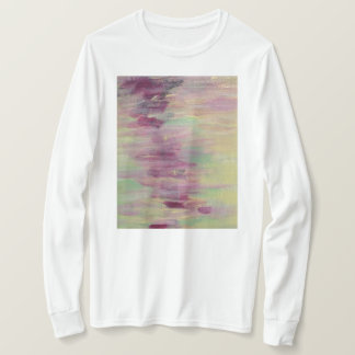 Camisa Sleeved longa Pastel