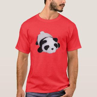 Camisa sonolento da panda