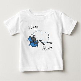 Camisa sonolento do bebê de Sheepy