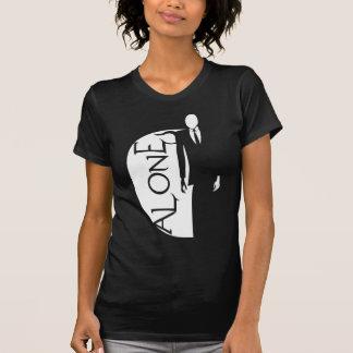 camisa sozinha do homem delgado t-shirts