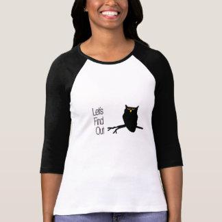 Camisa sugestivo da coruja