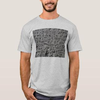 Camisa Sumerian da escrita