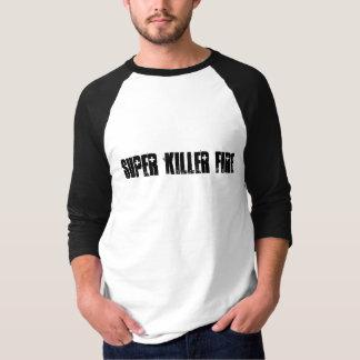 Camisa super da luva do fogo 3/4 do assassino