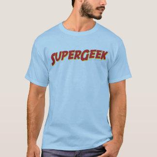 Camisa super do geek T