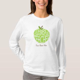 Camisa terceiro grau do professor T - Apple verde