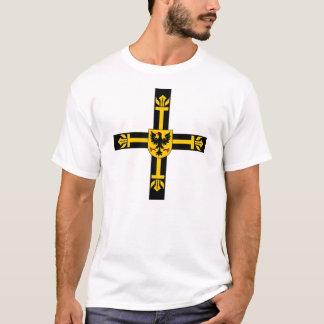 Camisa Teutonic da cruz da ordem