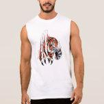 "Camisa ""Tigre"" Camisetas Sem Manga"
