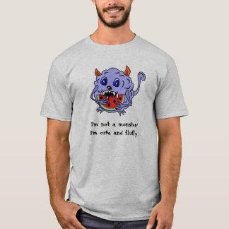 Camisa Toothy bonito e macia do monstro