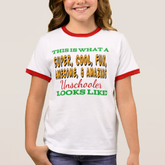 Camisa | Unschooler impressionante de Unschool
