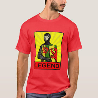 Camisa V2 da legenda do marechal de William