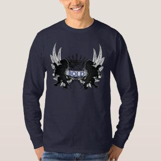 Camisa v3 CORAJOSO do valor do reino Camiseta