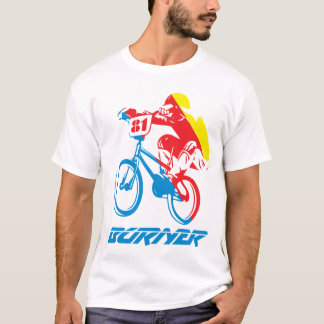 Camisa velha de Skool BMX T