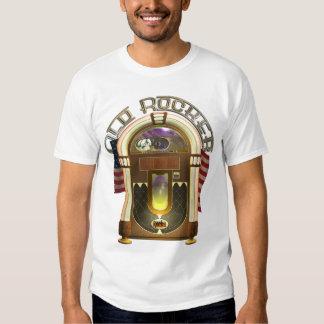 Camisa velha do balancim T do jukebox Tshirt