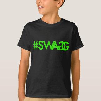 Camisa (verde) de Hashtag dos ganhos