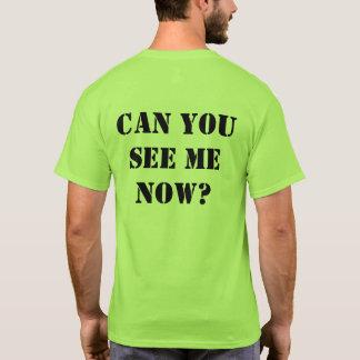 """Camisa verde do Olá!-vis: """"Pode você ver-me"""