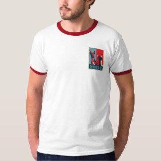 Camisa vermelha do exclusive do cão t-shirts