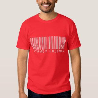 Camisa vermelha do logotipo de Stormey Coleman T-shirt